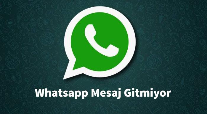 Whatsapp Mesaj Gitmiyor Teknouser