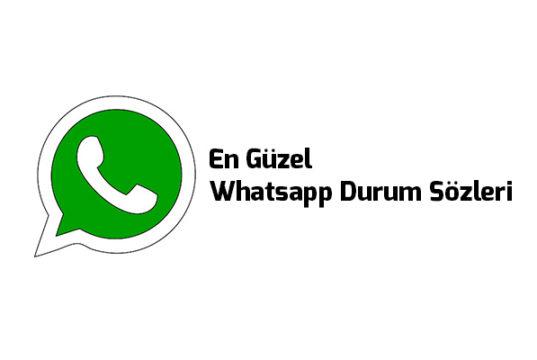 Whatsapp Durum Sözleri